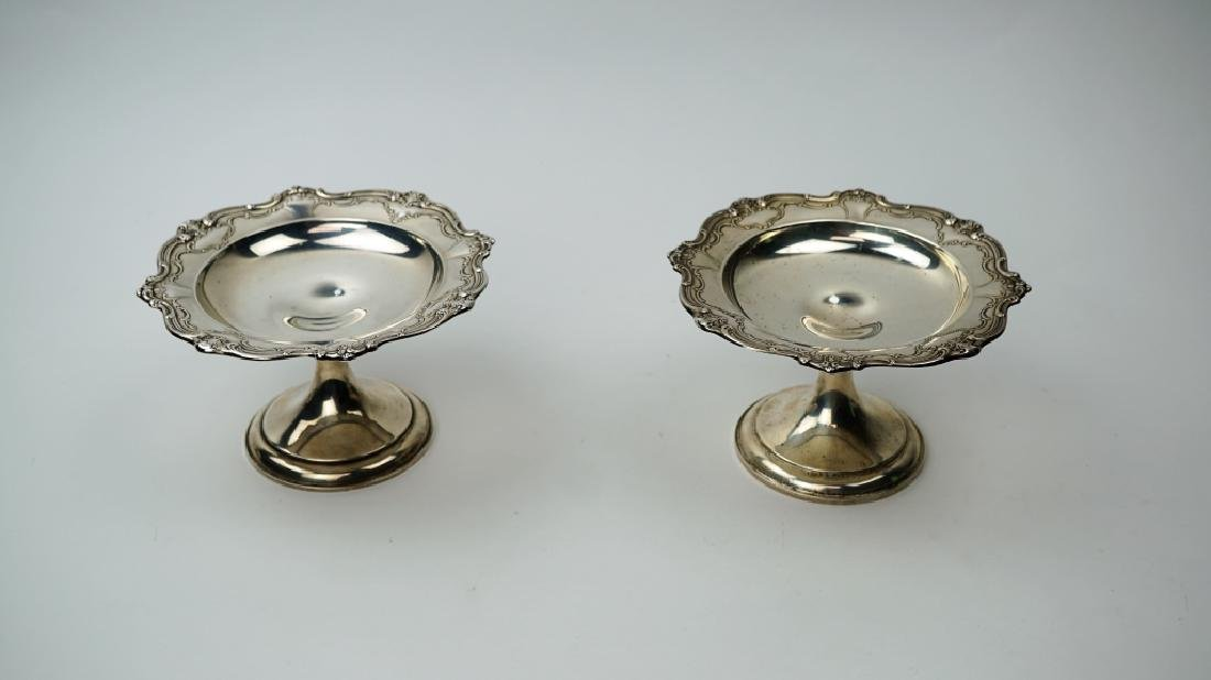 (2) GORHAM STERLING CHANTILLY DUCHESS COMPOTES