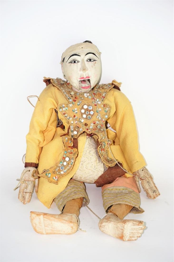 ANTIQUE CHINESE MARIONETTE PUPPET