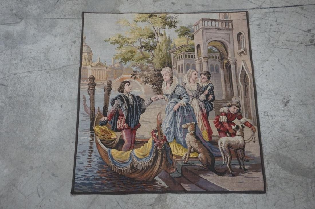 ANTIQUE BELGIUM TAPESTRY