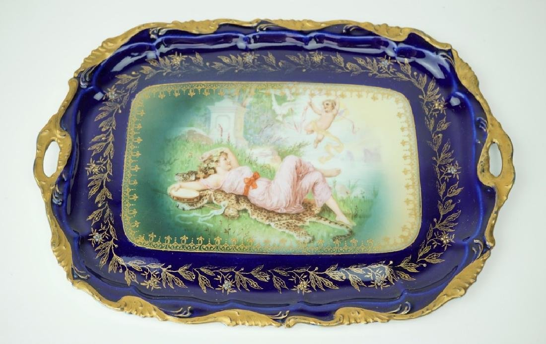 ROSENTHAL RC ALICE HAND PAINTED DRESSER TRAY