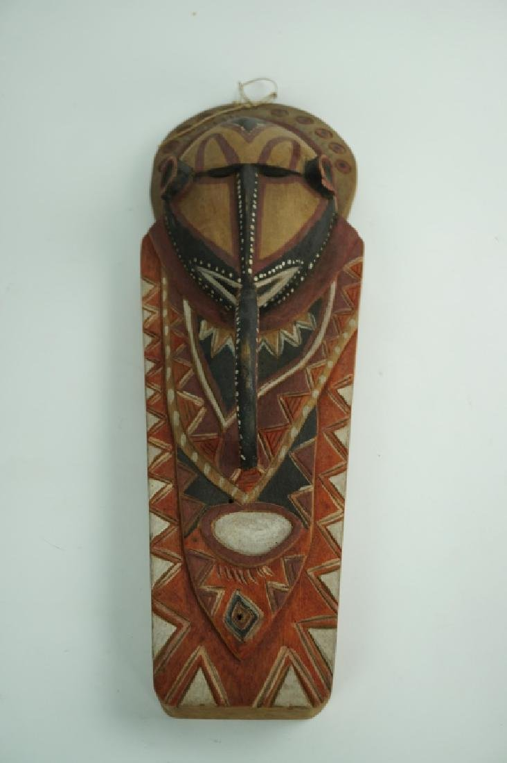 UNUSUAL VINTAGE AFRICAN TRIBAL MASK