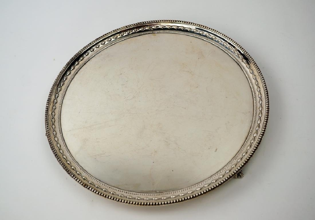 VINTAGE JAMES DIXON & SONS SILVER PLATE TRAY