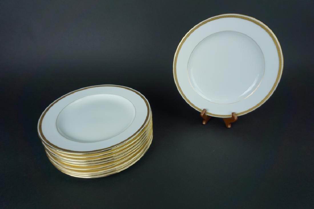 (10) MINTONS ENGLAND DINNER PLATES