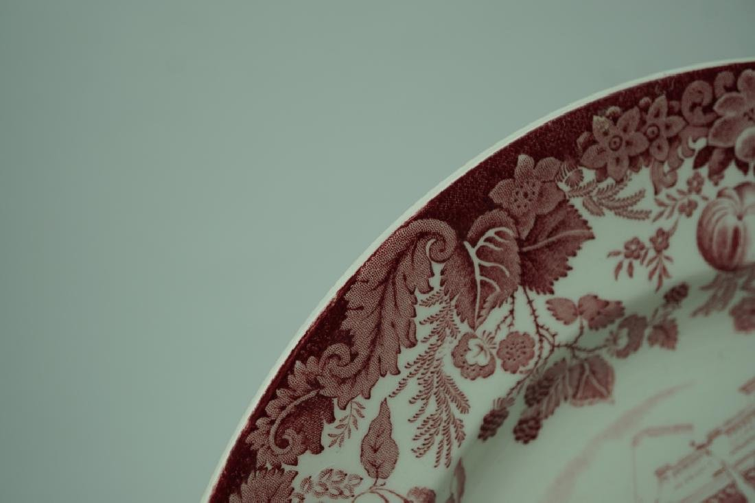 (10) VINTAGE WEDGWOOD ETRURIA & BARLASTON PLATES