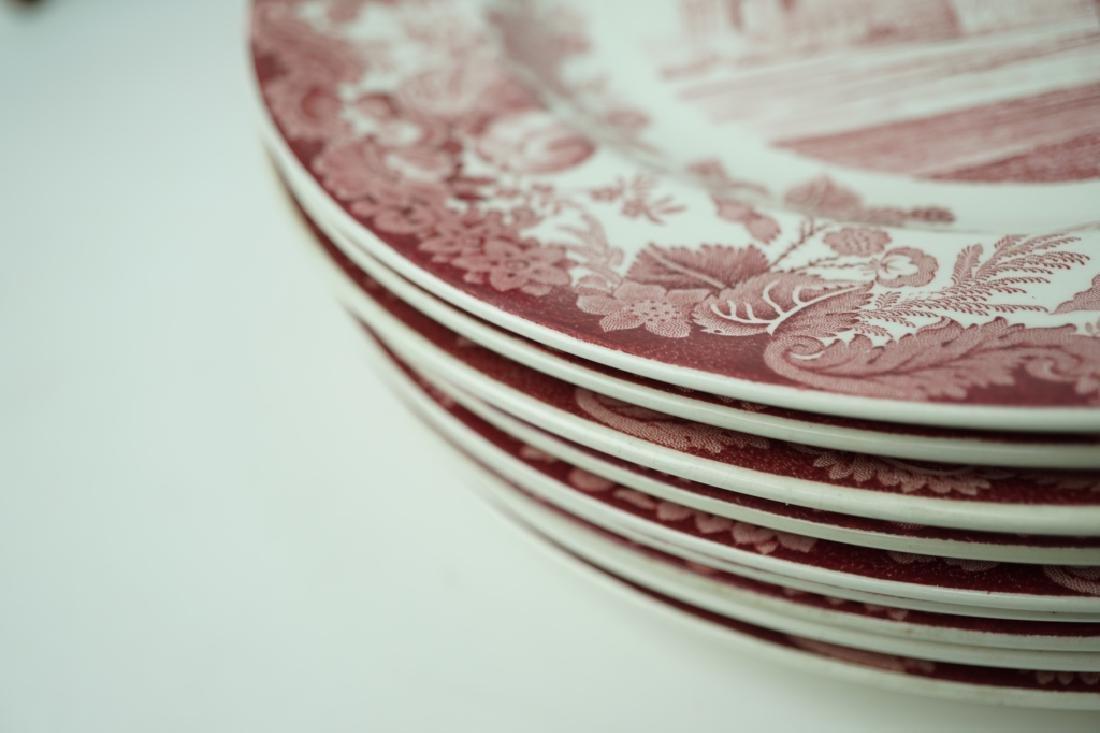 (10) VINTAGE WEDGWOOD ETRURIA & BARLASTON PLATES - 3