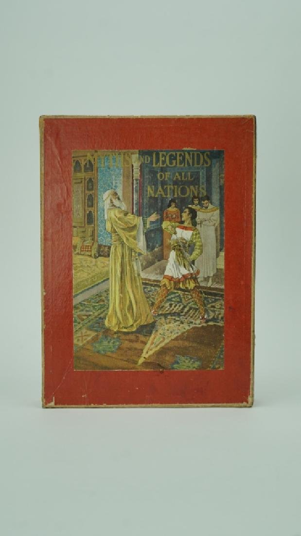 1914 EDITION MYTHS & LEGENDS OF ALL NATIONS