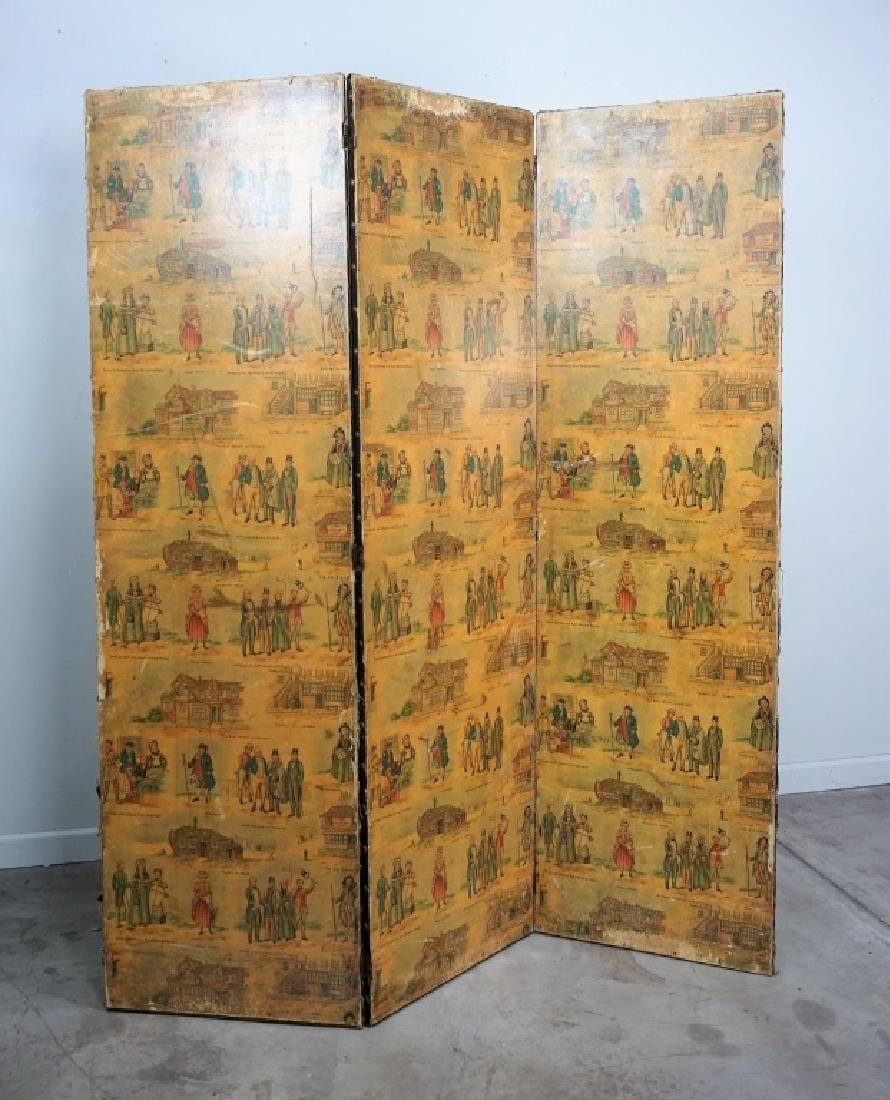 ANTIQUE CHARLES DICKENS ROOM DIVIDER
