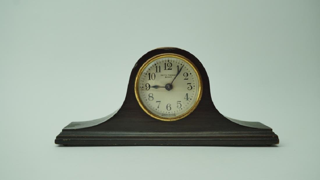 SMALL ANTIQUE SETH THOMAS 8 DAY MANTLE CLOCK