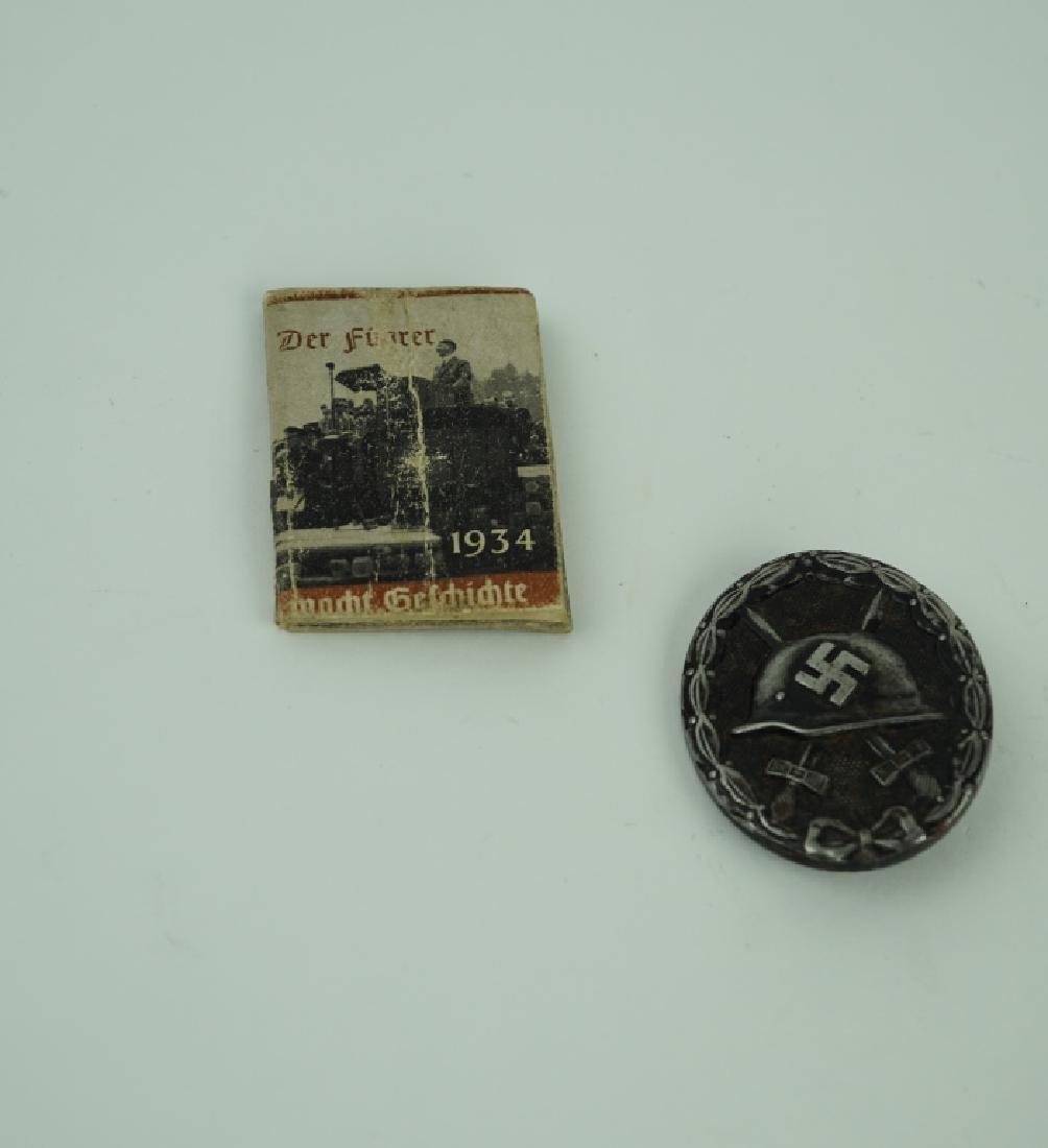2pcs WORLD WAR II GERMAN MILITARIA
