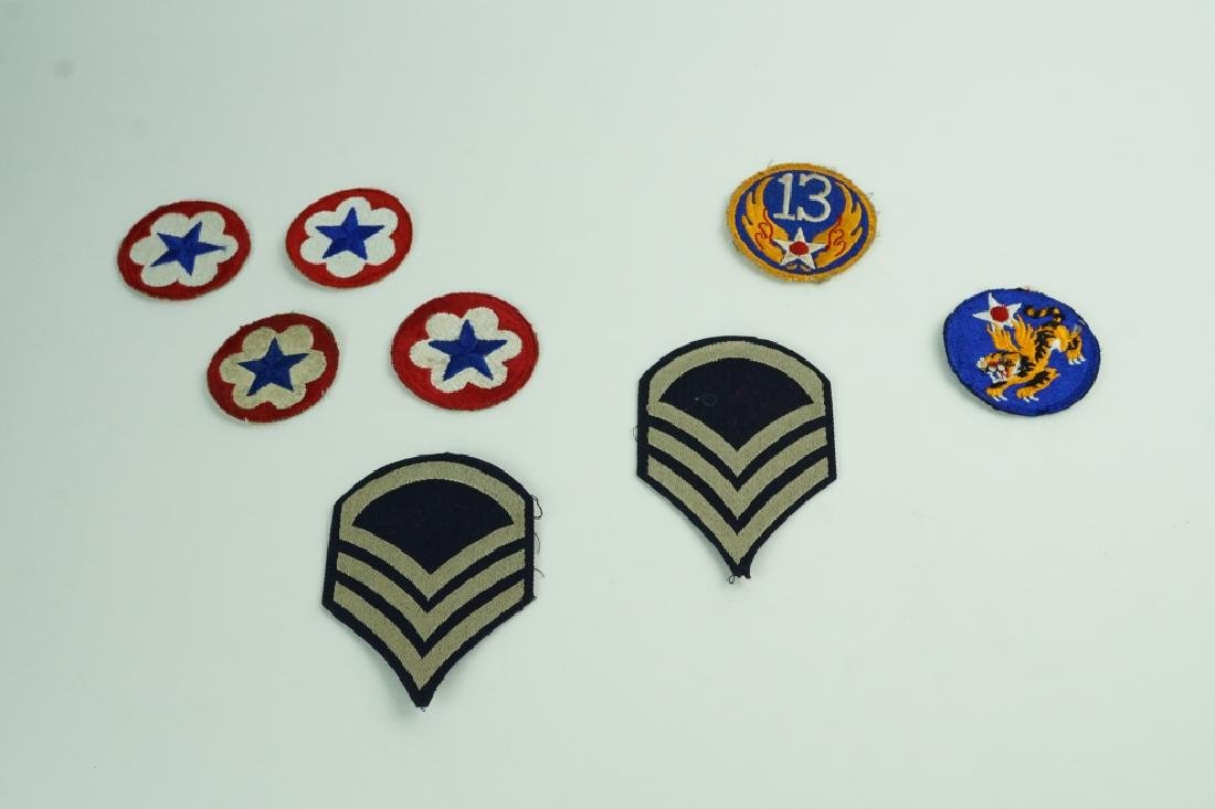 (8) WORLD WAR II PATCHES