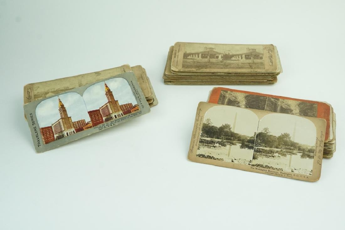 50+ ASSORTED STEREO CARDS