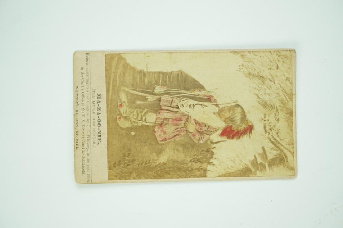 CDV OF INDIAN CHILD MA-ZA-OO-NIE