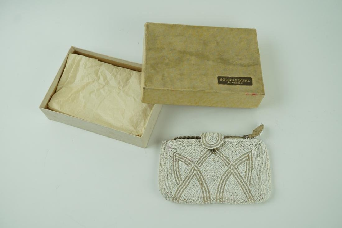 ART DECO BEADED PURSE IN ORIGINAL BOX