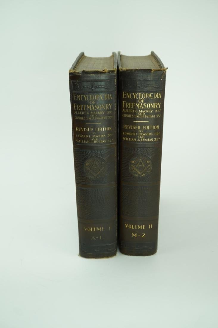1927 ENCYCLOPEDIA OF FREEMASONRY VOL 1 & 2