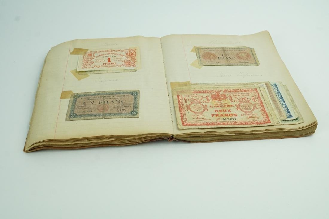 BOOK OF ASSORTED VINTAGE CURRENCY
