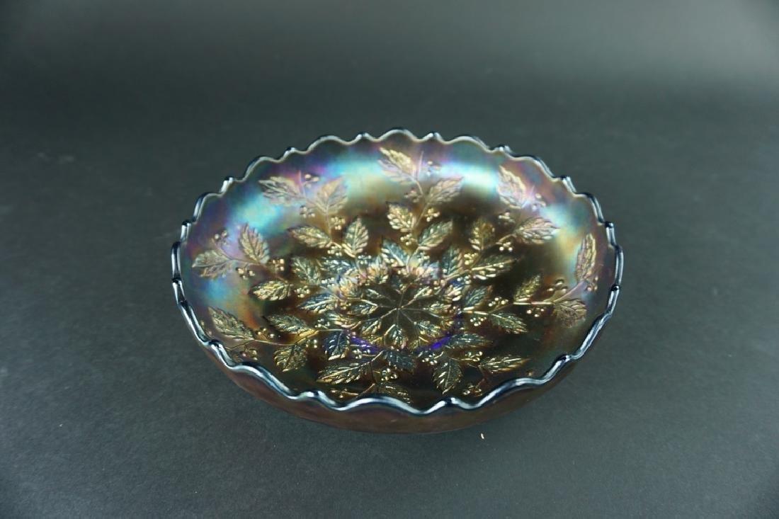 ANTIQUE CARNIVAL GLASS BOWL