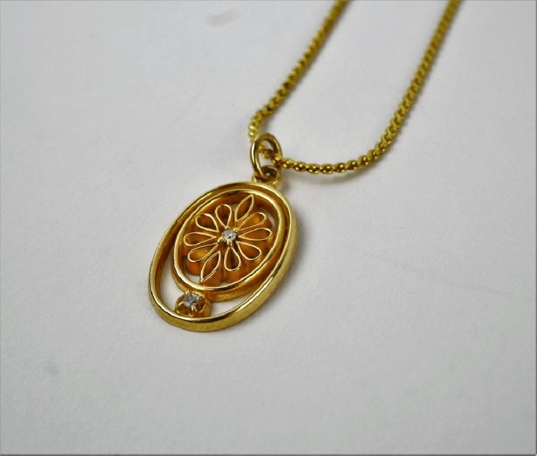 4pc ASSORTED 10K YELLOW GOLD JEWELRY - 7