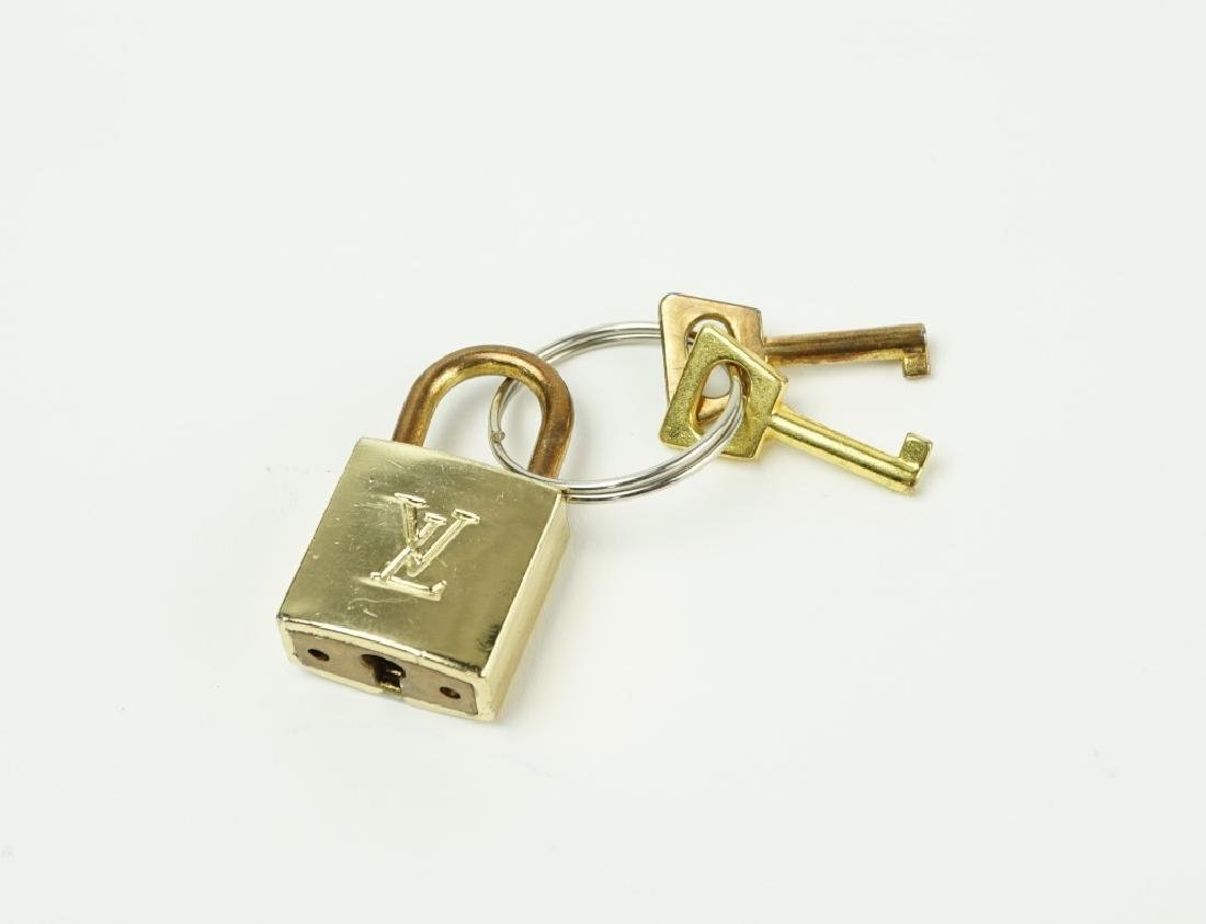LOUIS VUITTON LOCK & KEY SET