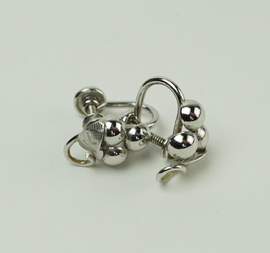 (4) PAIRS STERLING SILVER EARRINGS - 4
