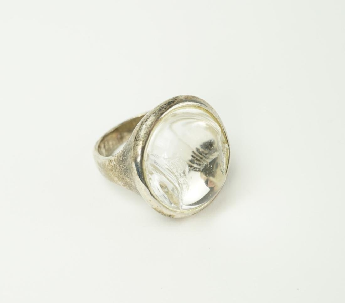 RLM POOLS OF LIGHT CRYSTAL QUARTZ RING