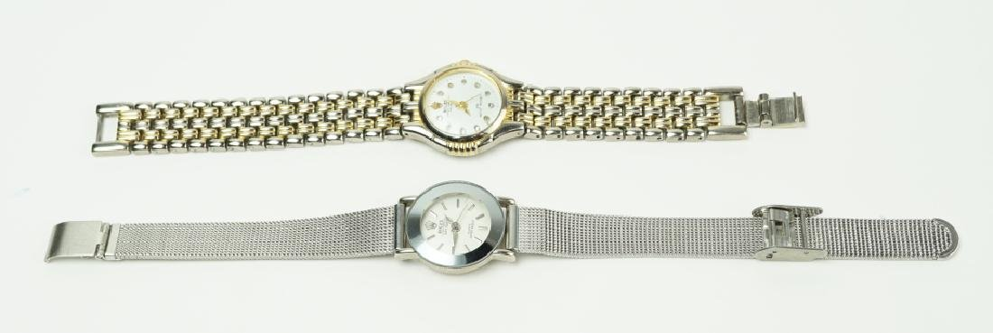 (2) ROLEX STYLE WRIST WATCHES