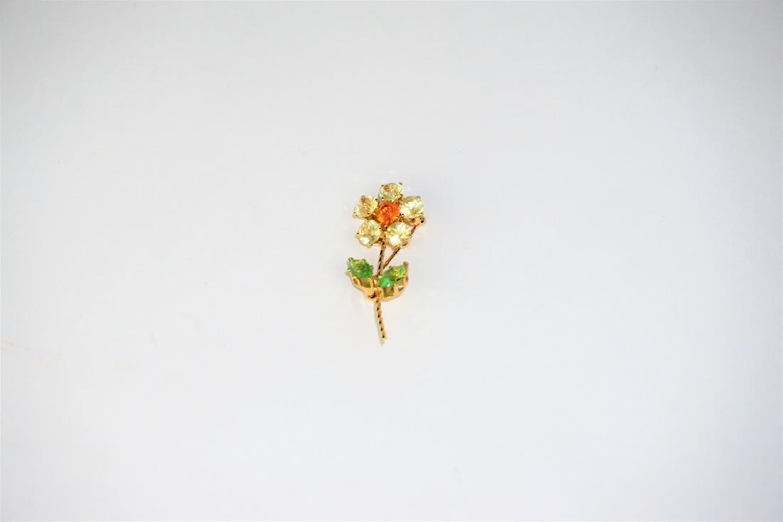 NOLAN MILLER FLOWER BUDDIES PIN - 2