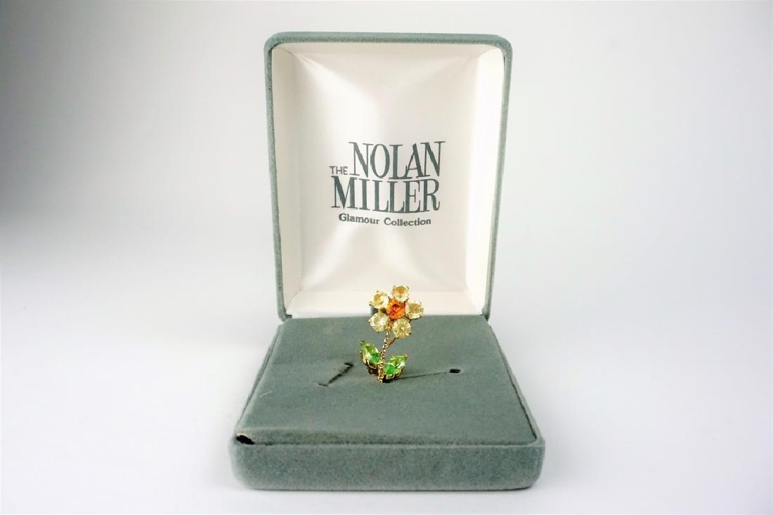 NOLAN MILLER FLOWER BUDDIES PIN - 4