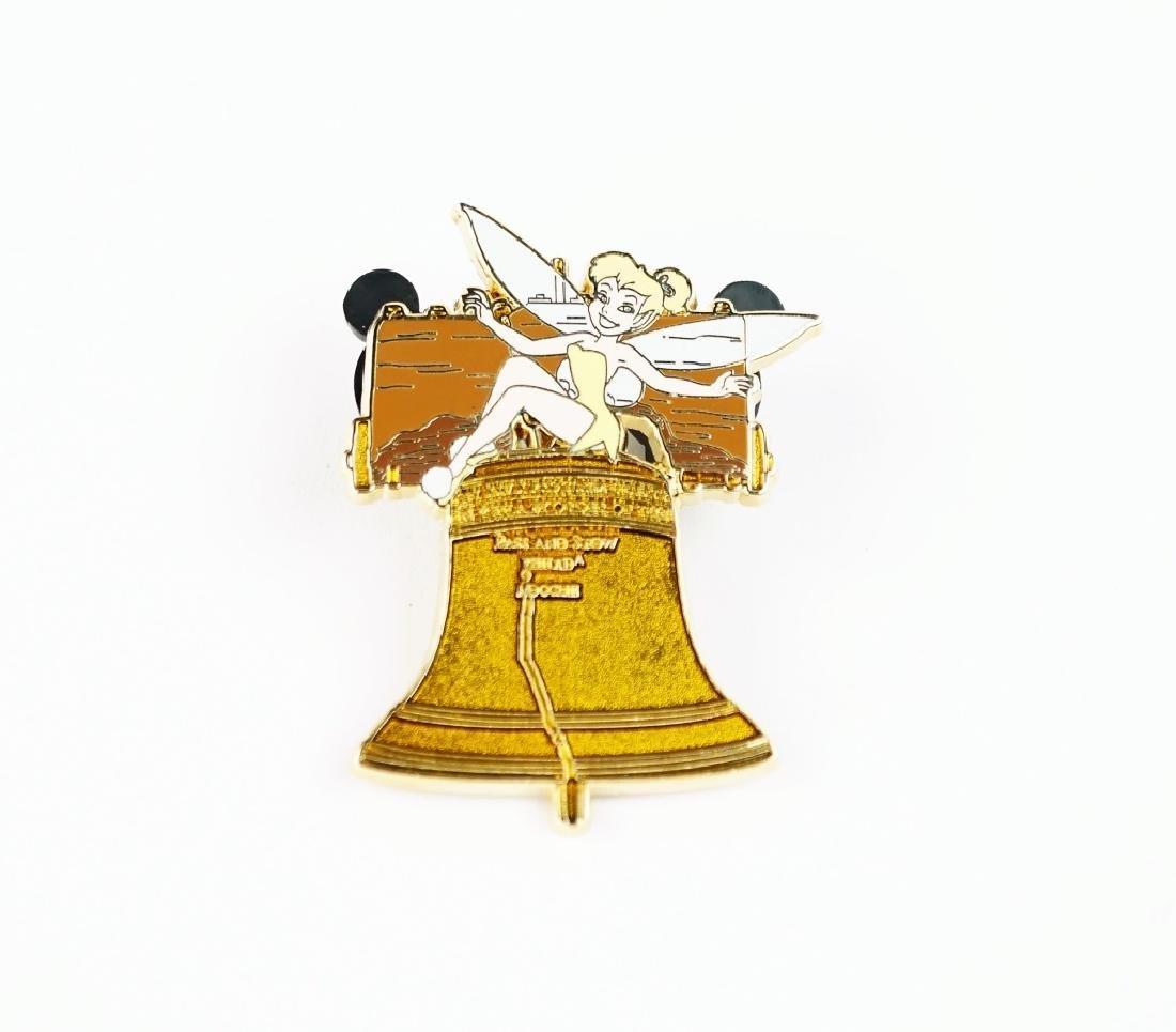 DISNEY TINKER BELL ON LIBERTY BELL PIN - 2