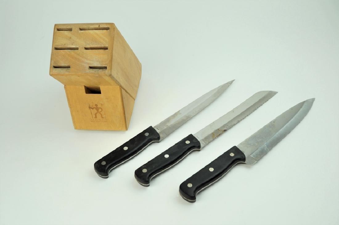 JA HENCKELS EVERSHARP PRO KNIFE SET - 10