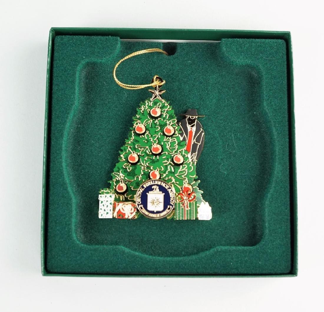 CIA CHRISTMAS ORNAMENT - 2