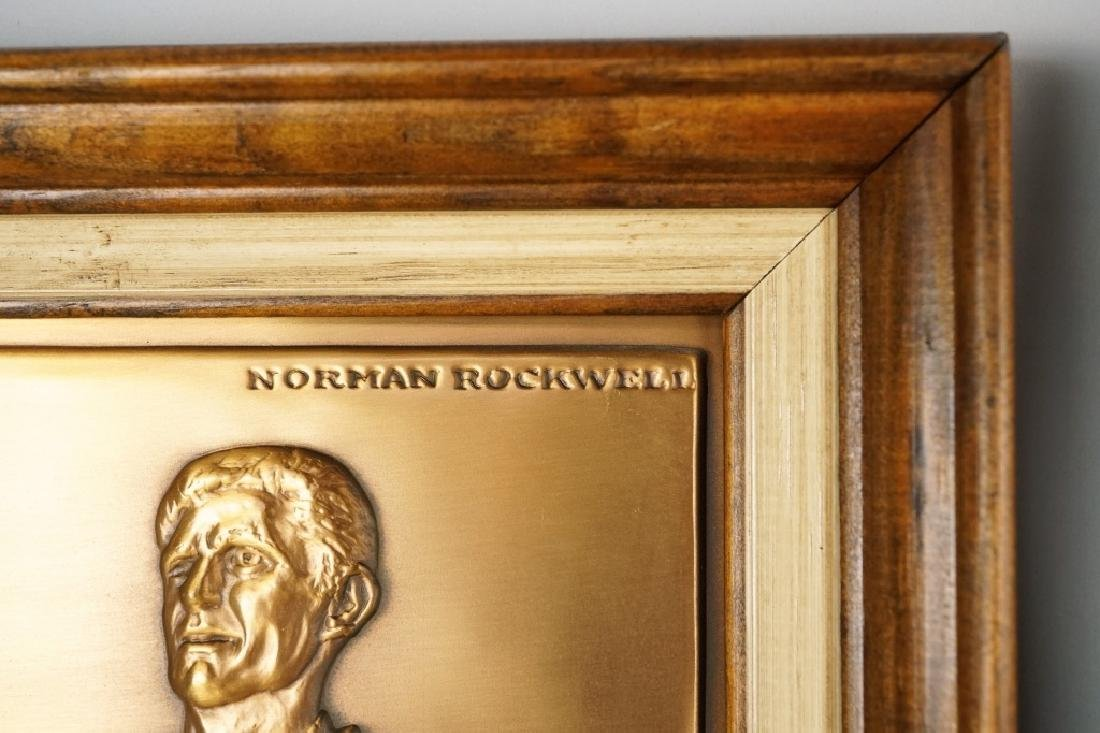 (4) NORMAN ROCKWELL FREEDOM PLAQUES - 2