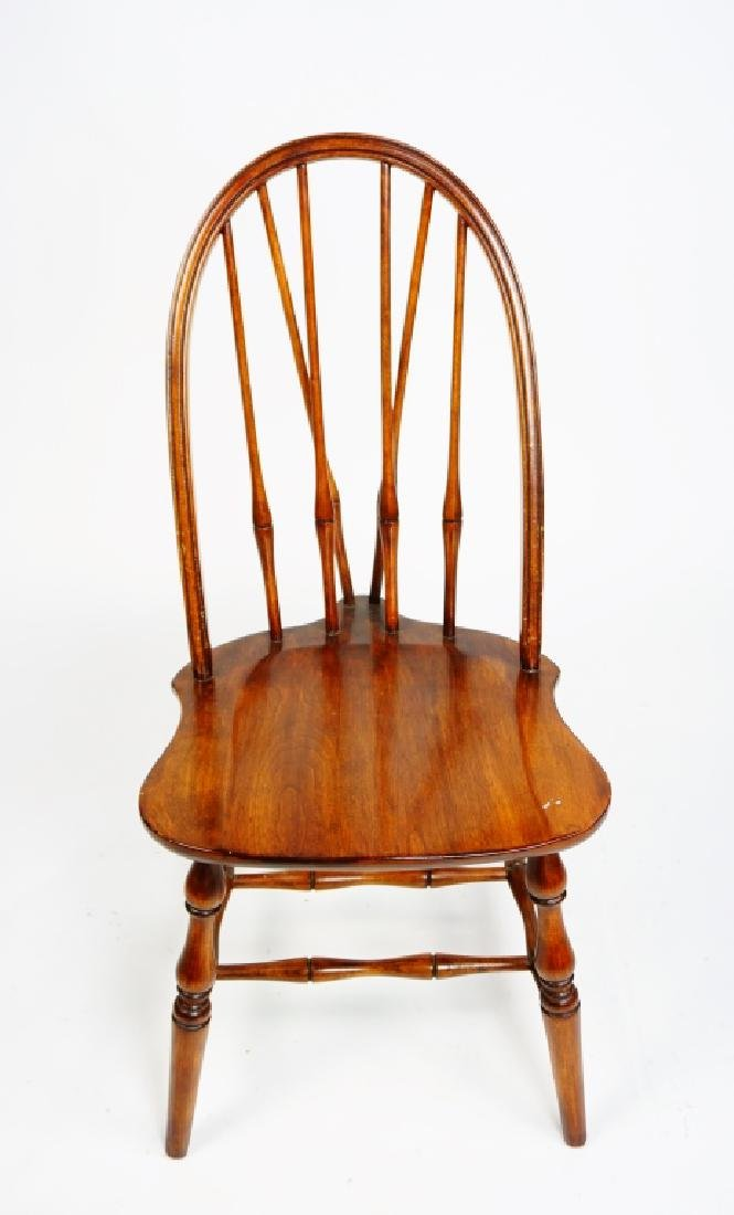 (3) WINDSOR STYLE CHAIRS - 5
