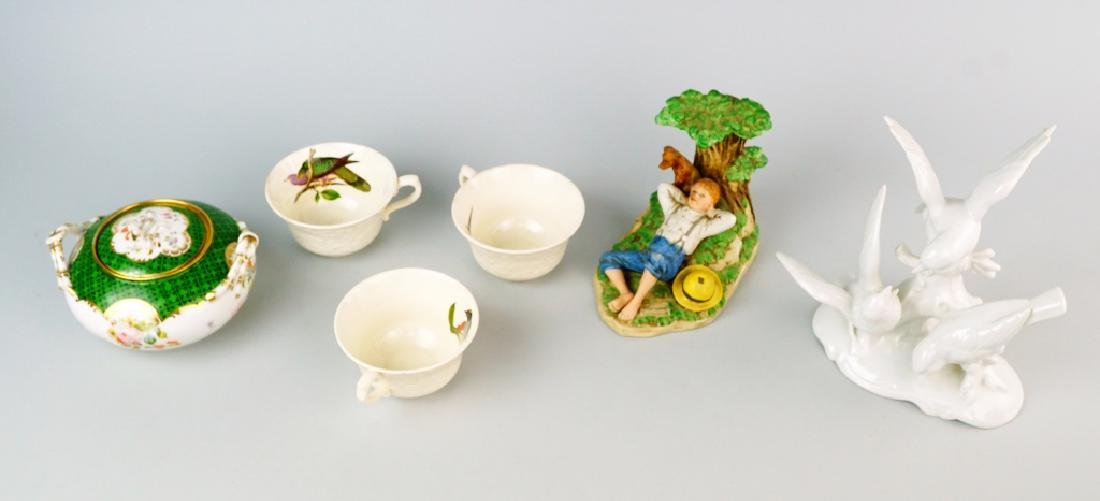 6pcs ASSORTED PORCELAIN - 2