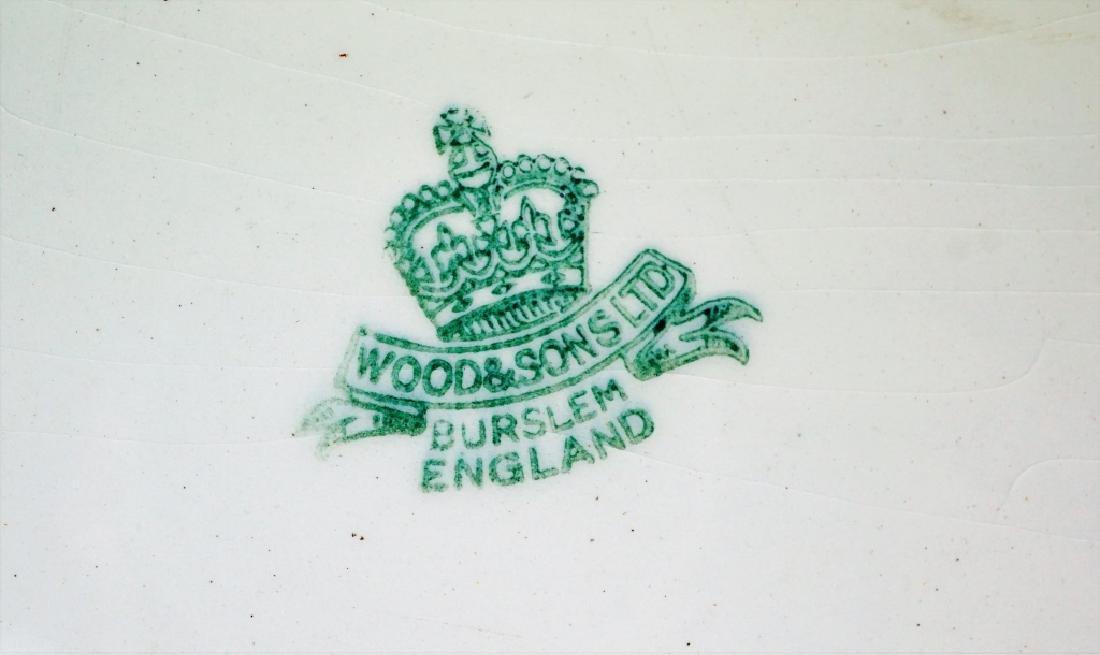 2pcs WOODS & SONS ENGLAND PORCELAIN - 6