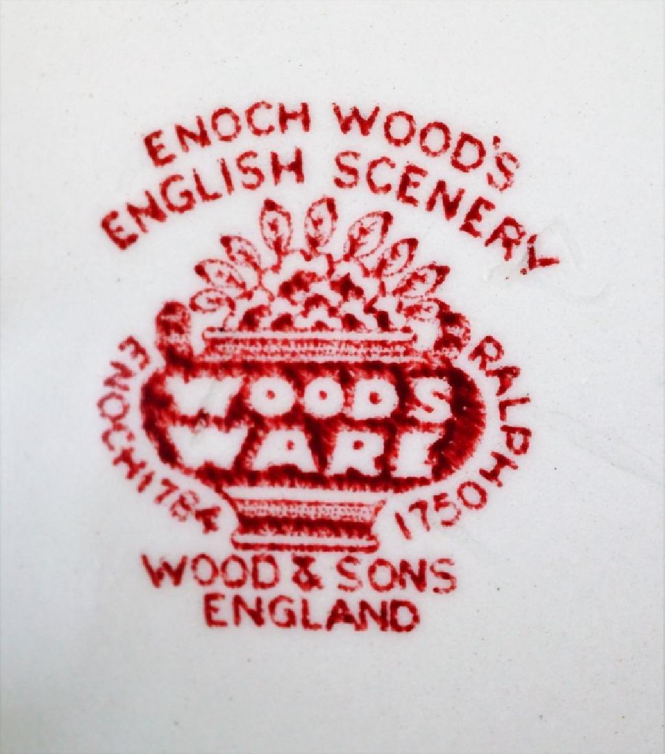 2pcs WOODS & SONS ENGLAND PORCELAIN - 9
