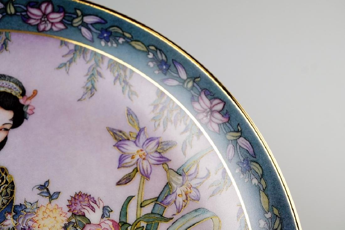 (6) ROYAL DOLTON MARTY NOBLE FLOWER MAIDEN PLATES - 3