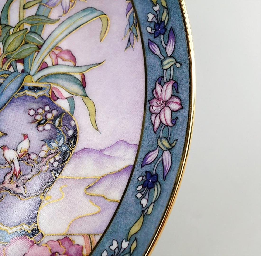(6) ROYAL DOLTON MARTY NOBLE FLOWER MAIDEN PLATES - 4
