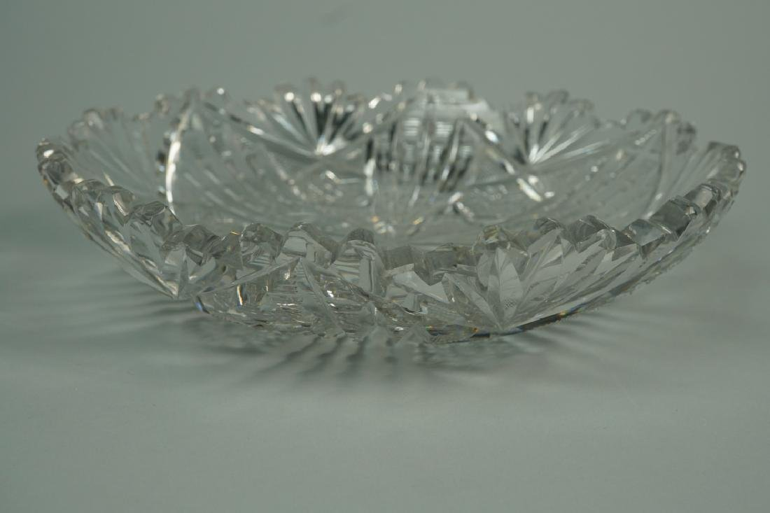 (2) ASSORTED CUT CRYSTAL BOWLS - 5