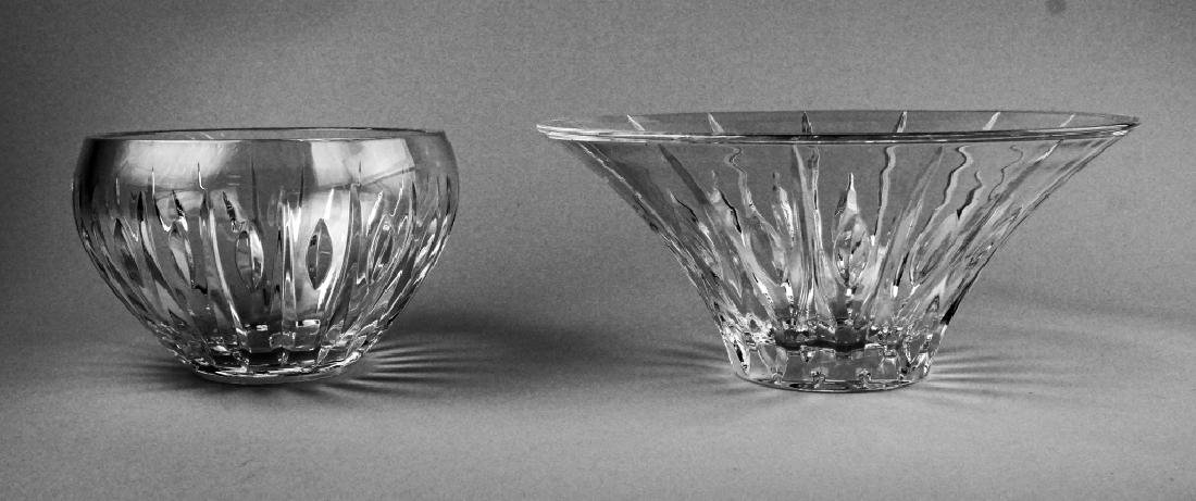 (2) WATERFORD CRYSTAL MARQUIS BOWLS - 2