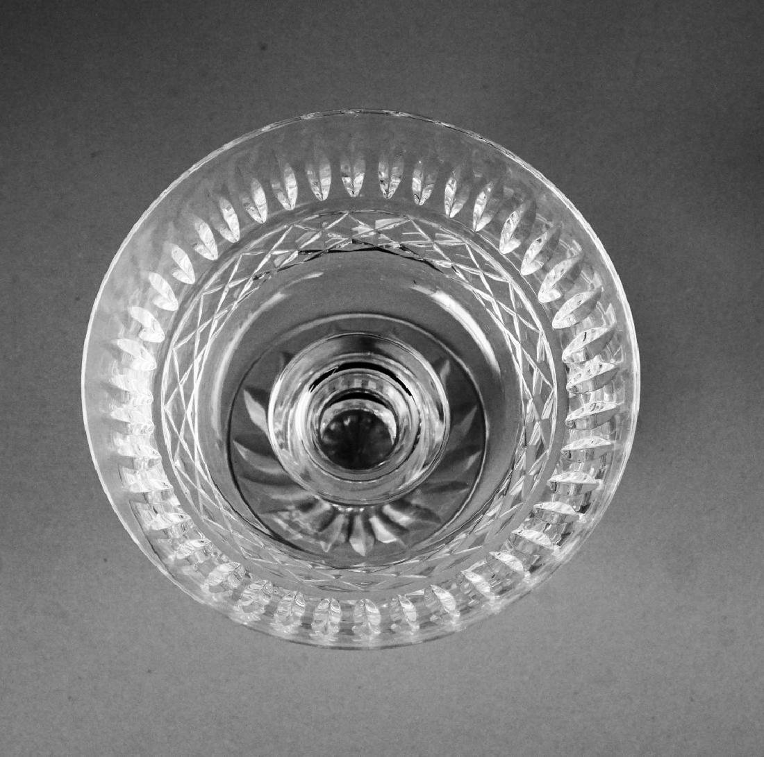(9) WATERFORD TRAMORE SAUCER CHAMPAGNE GLASSES - 8