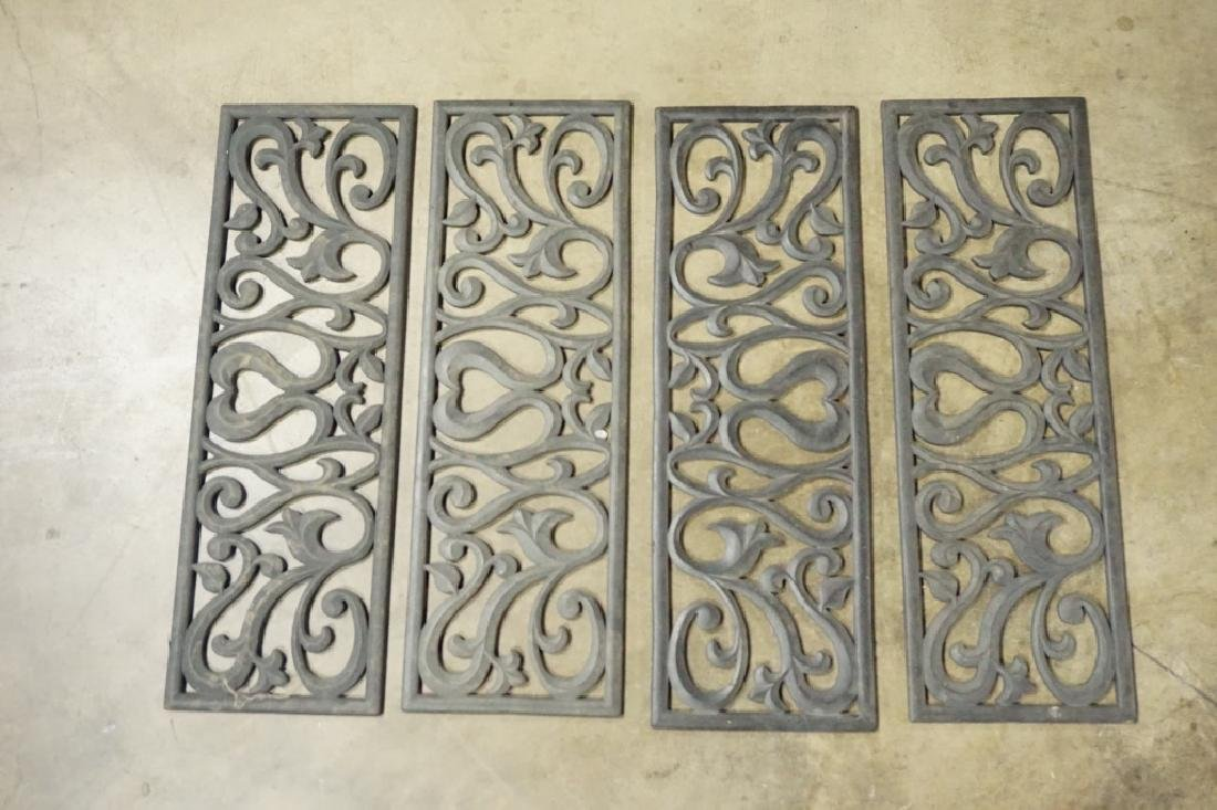 (4) DECORATIVE RUBBER BOOTSCRAPERS FOR STAIRS