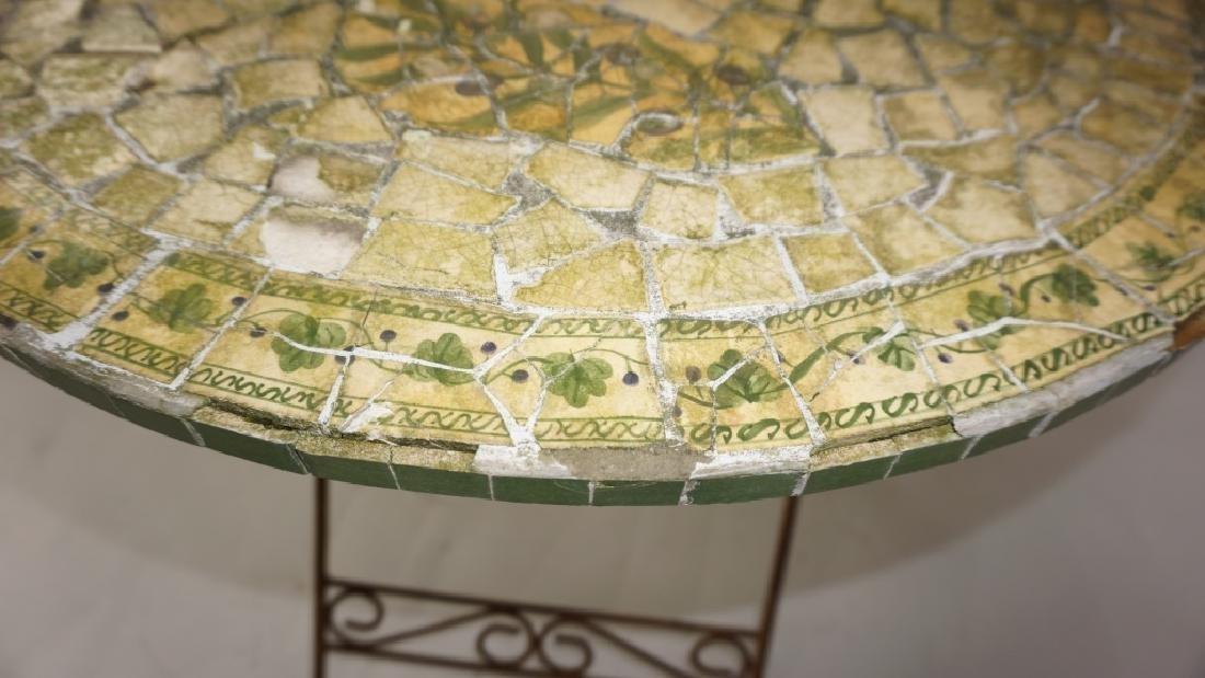 VINTAGE MOSAIC TOP TABLE - 4