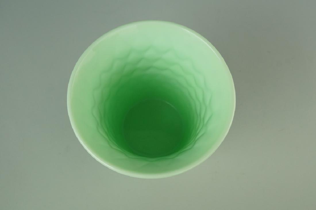 MINT GREEN FENTON VASE - 4