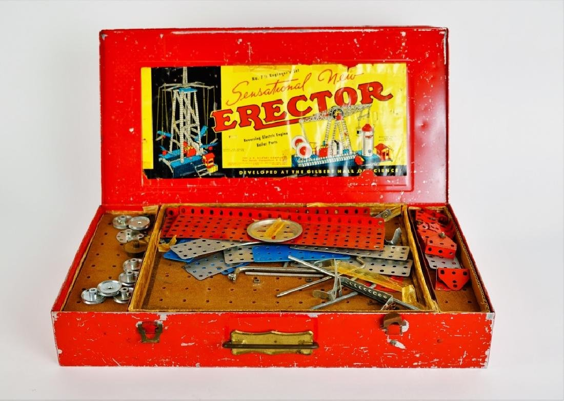 GILBERT ERECTOR SET No 7 1/2 WALKING BEAM ENGINE