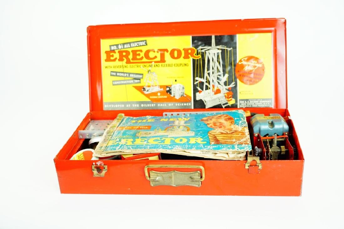 A.C. GILBERT ERECTOR SET No 6 1/2 AIRPLANE RIDE