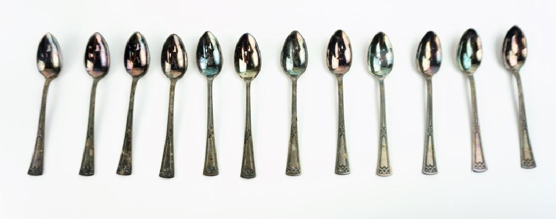 (21) ASSORTED SILVER PLATE SOUVENIR SPOONS - 6