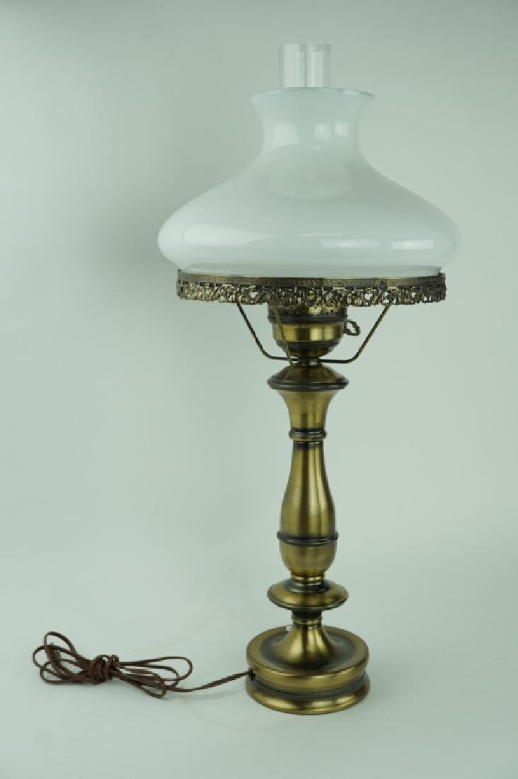 OIL LAMP STYLE TABLE LAMP