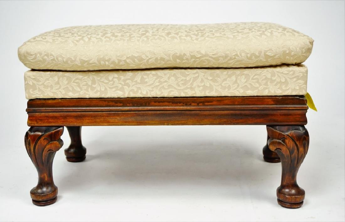 FOOTSTOOL WITH STORAGE COMPARTMENT