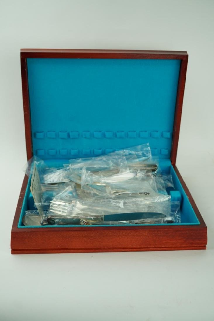 70pcs ASSORTED SILVER-PLATE IN CHEST - 9