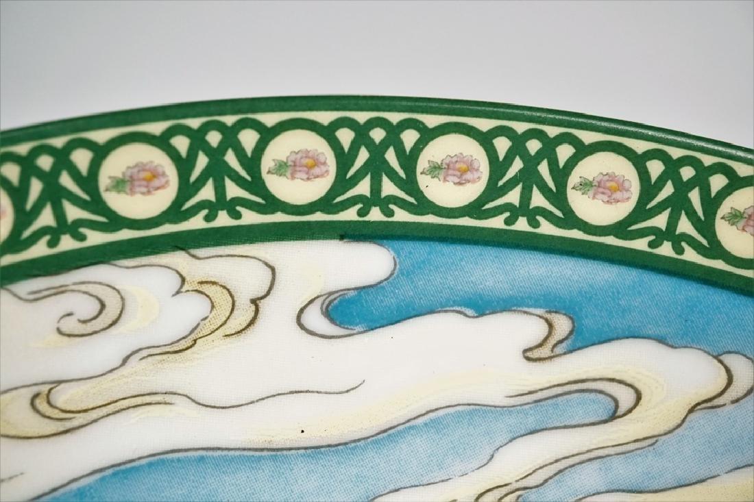 ZHAO HUIMIN FLOWER GODDESSES OF CHINA PLATE SET - 6